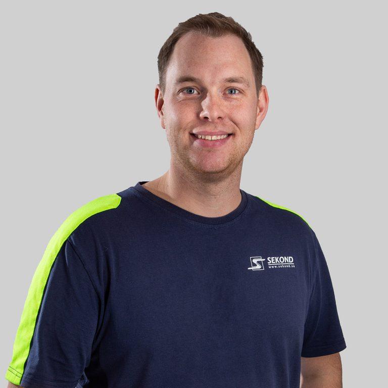 Johan Selvên är elektriker och företagsledare på Sekond