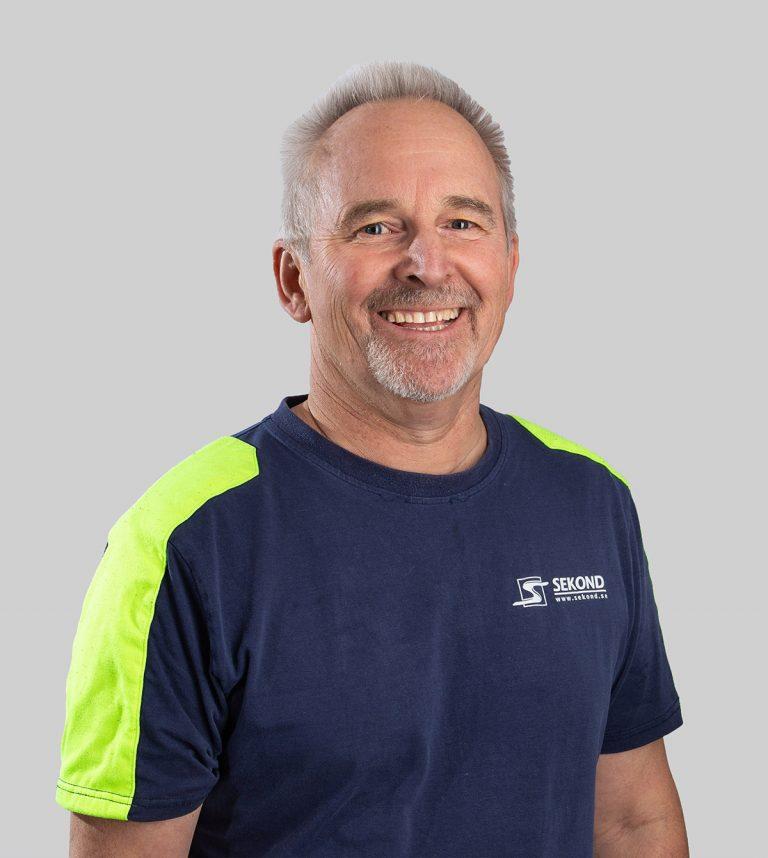 Michael Jillerö är elektriker och arbetar med Elservice på Sekond