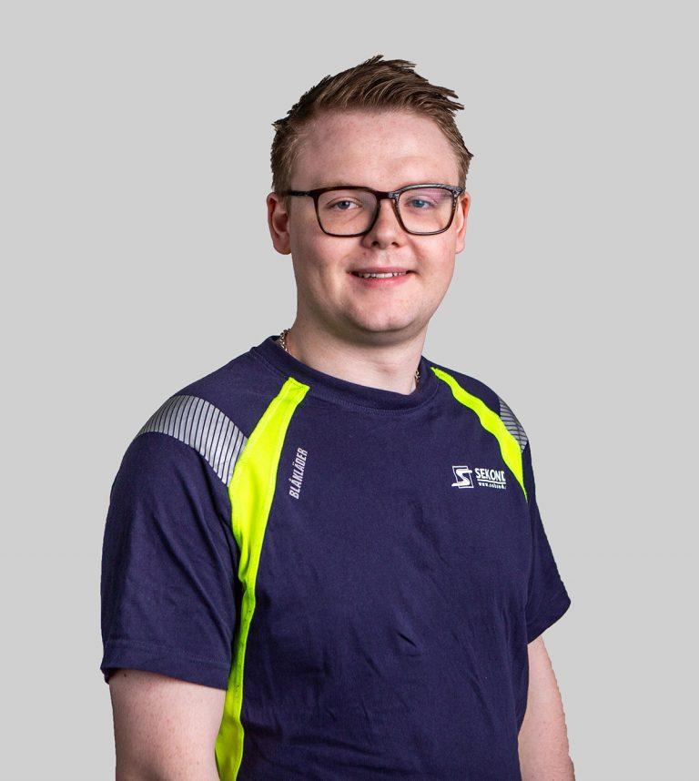 William Andersson, Elektriker på Sekond i Trollhättan